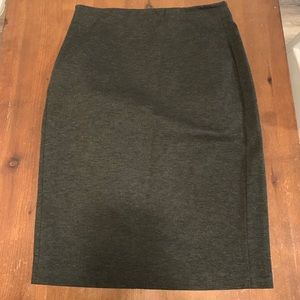 Vince Camuto Grey Pencil Skirt